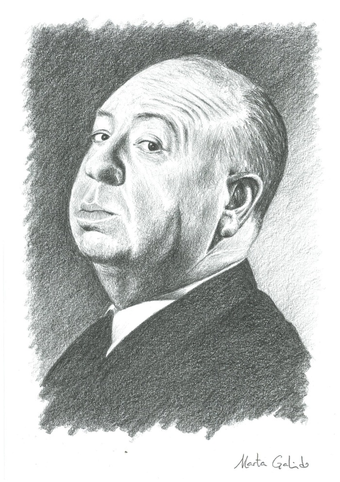 Portrait of Hitchcock