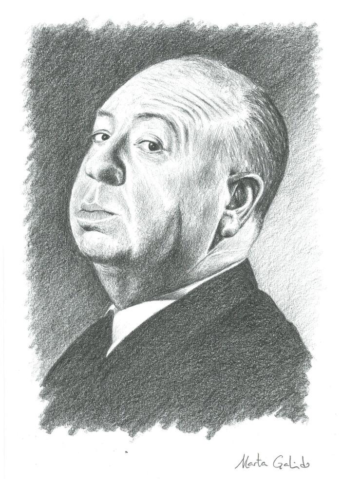 Portrait of Hitchcock