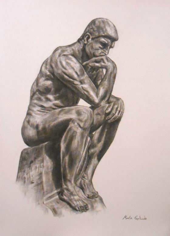 The thinker (Rodin sculpture)