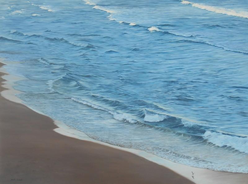 Dusk at Bondi Beach